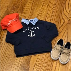 Janie and Jack 'Captain' outfit